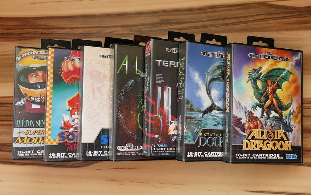 De nombreux jeux rétros disponibles