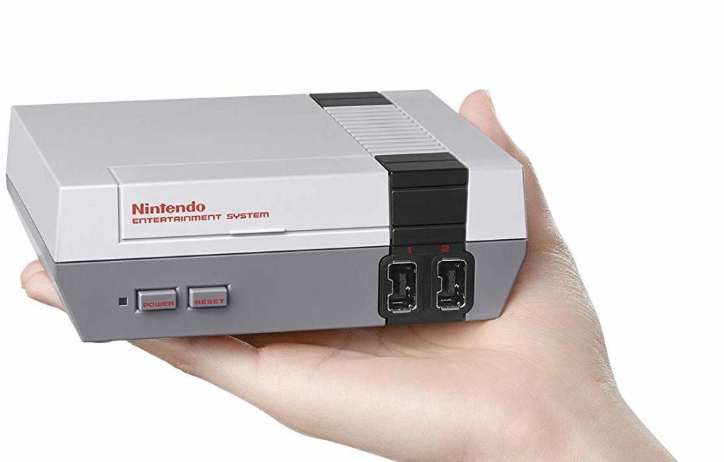 Une console miniature Nintendo