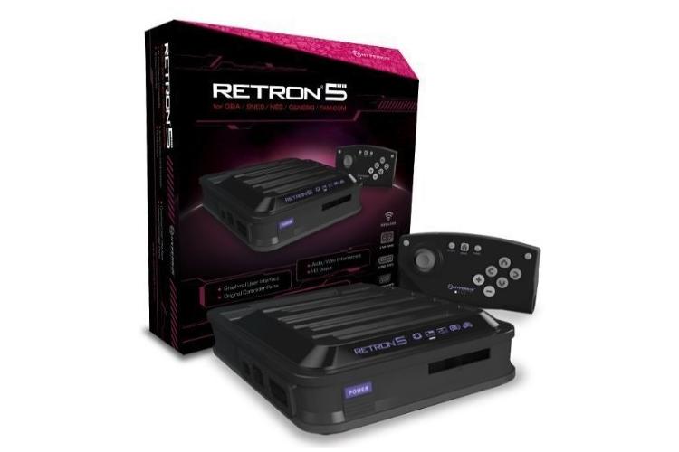Avis et test de la console retron 5