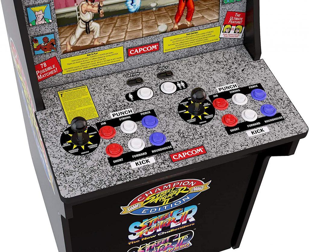 arcade1up street fighter avis